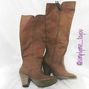 Mia Vagabondo Heeled Boot